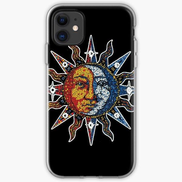Celestial Mosaic Sun/Moon iPhone Soft Case
