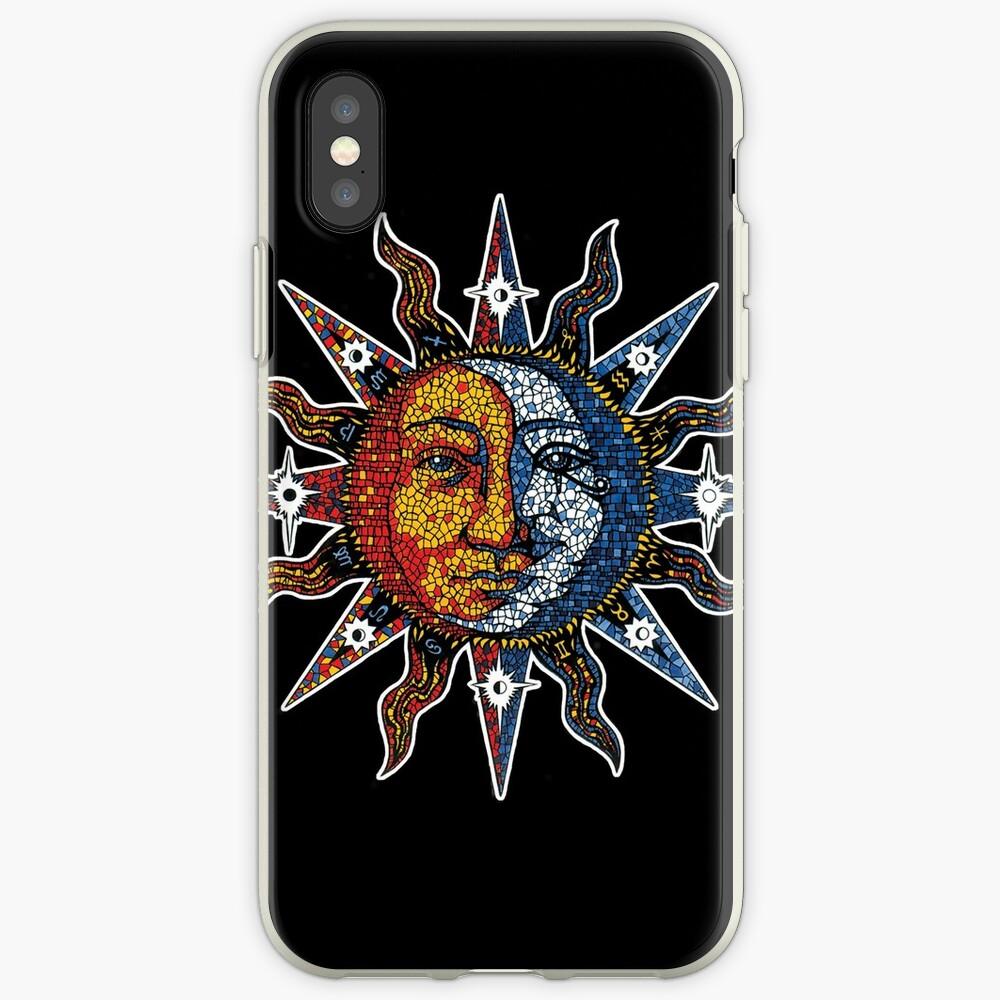 Celestial Mosaic Sun/Moon iPhone Case & Cover