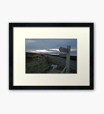 Footpath Framed Print