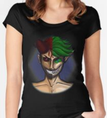Through The Mirror Women's Fitted Scoop T-Shirt