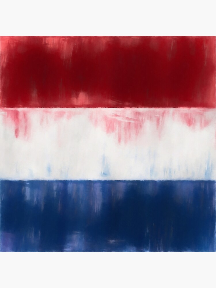 Dutch Flag No. 1, Series 1 by 8th-and-f