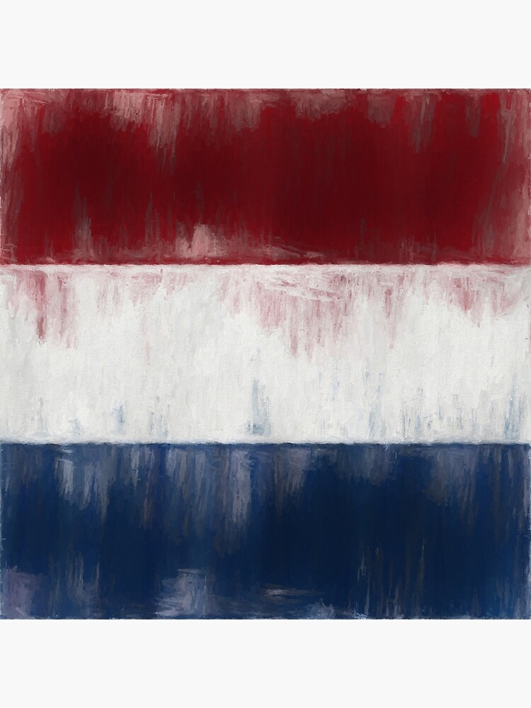 Dutch Flag No. 1, Series 2 by 8th-and-f
