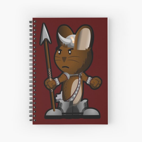 Lars The Viking Bunny Spiral Notebook