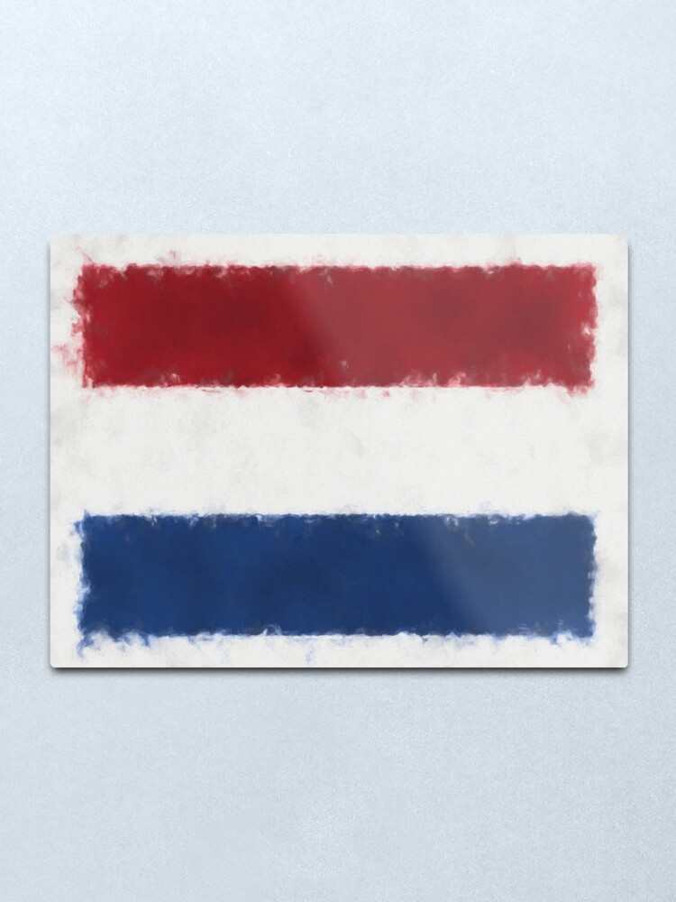 Alternate view of Dutch Flag No. 66, Series 5 Metal Print