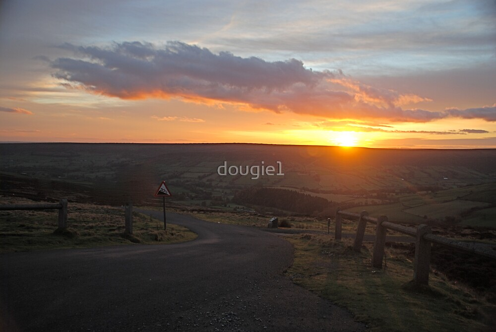 Sunset over Farndale by dougie1