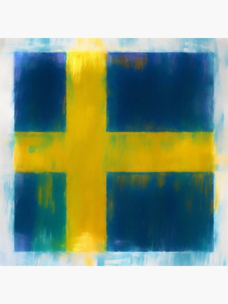 Swedish Flag No. 2, Series 1 by 8th-and-f