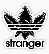 Stranger Things - Adidas logo Sticker
