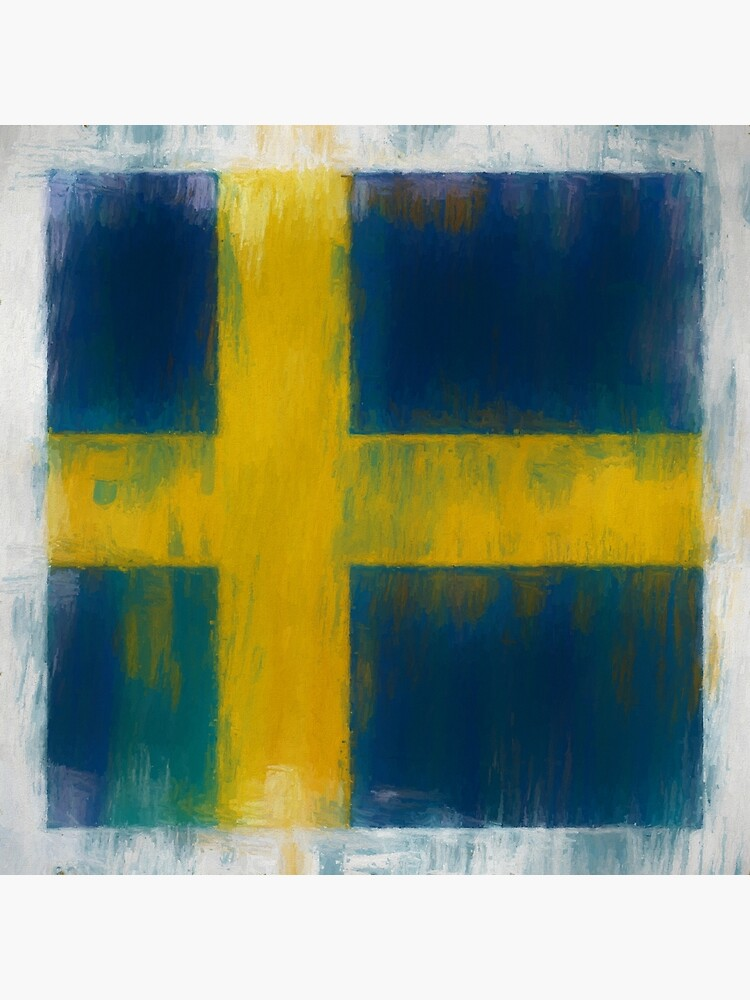 Swedish Flag No. 2, Series 2 by 8th-and-f