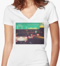 Exposure Play Women's Fitted V-Neck T-Shirt