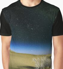 Blood Moon, Milkyway and The Shara by Adam Asar 2 Graphic T-Shirt