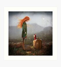 'Take Me To The Castle' Art Print