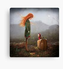 'Take Me To The Castle' Canvas Print