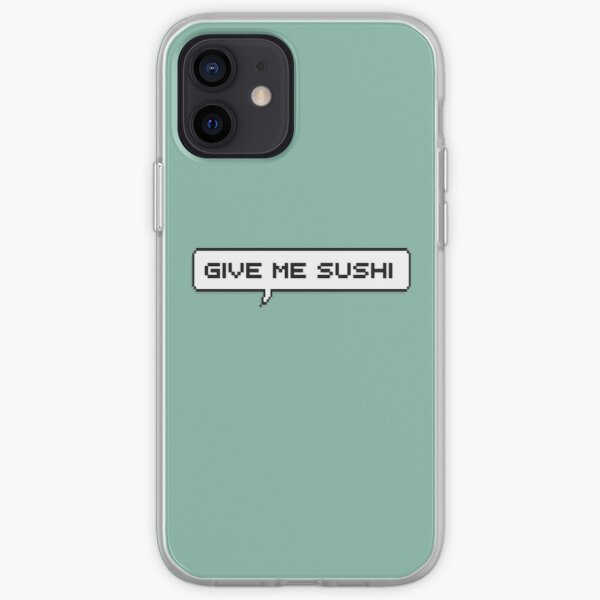 GIVE ME SUSHI!  iPhone Soft Case