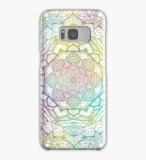 Floating Space Flowers Samsung Galaxy Case/Skin