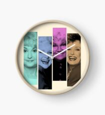 Golden Girls club Clock