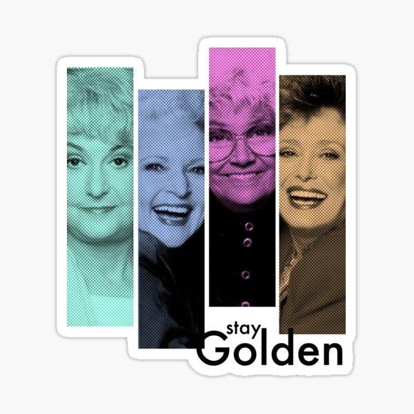 Golden Girls club Sticker