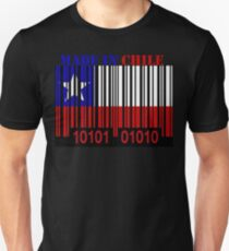 Chile Barcode Flag Made In... T-Shirt