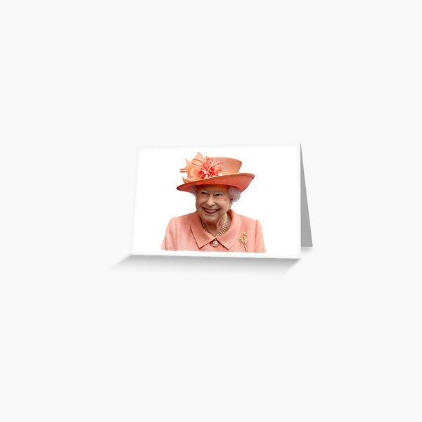 Queen Lizzy Greeting Card