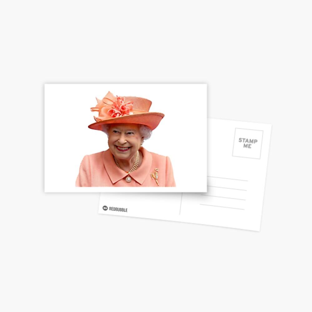 Queen Lizzy Postcard