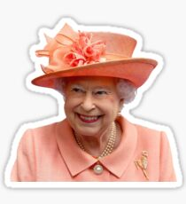 Queen Lizzy Sticker