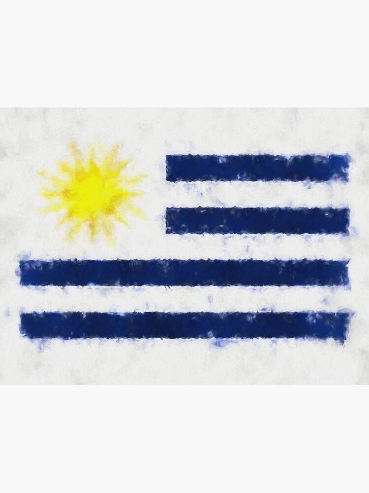 Uruguayan Flag Reworked No. 66, Series 5 by 8th-and-f