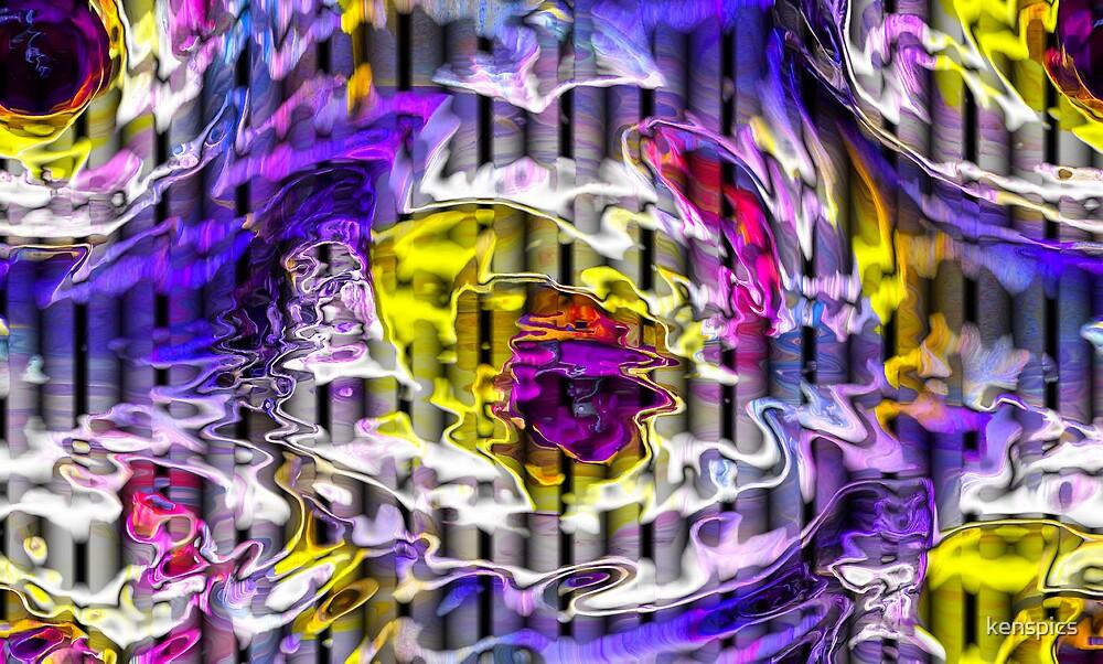 Electric Amoeba  by kenspics