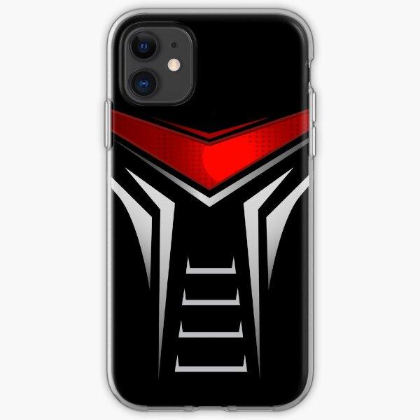 Battle Star Galactica Cylon Graphic  iPhone Soft Case