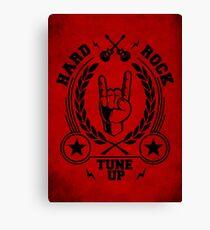 Hard rock red Canvas Print