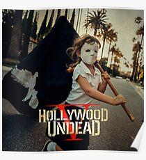 hollywood undead five tour 2018 pahoman Poster