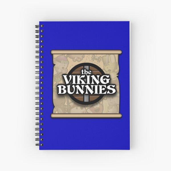 The Viking Bunnies Logo Spiral Notebook