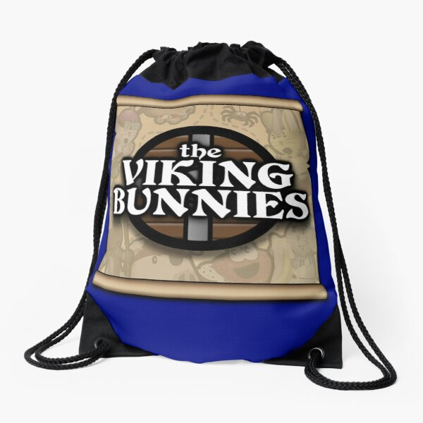 The Viking Bunnies Logo Drawstring Bag