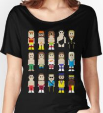8-Bit Wrestlers! Women's Relaxed Fit T-Shirt