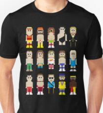 Camiseta unisex Luchadores de 8 bits!