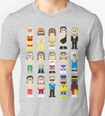 8-Bit Wrestlers! T-Shirt