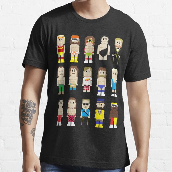8-Bit Wrestlers! Essential T-Shirt