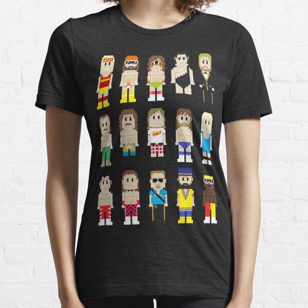 8-Bit Wrestlers! Essential T-Shirt
