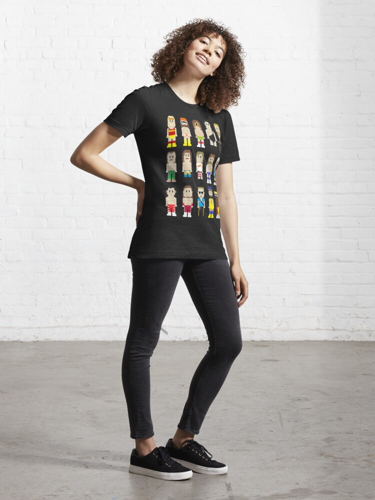 Alternate view of 8-Bit Wrestlers! Essential T-Shirt