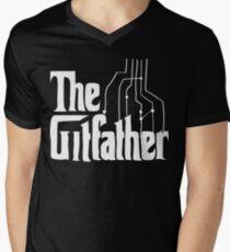 The Gitfather Men's V-Neck T-Shirt