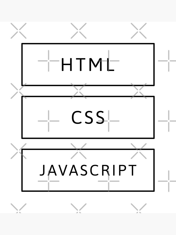HTML, CSS & JavaScript Developer (Inverted) by developer-gifts
