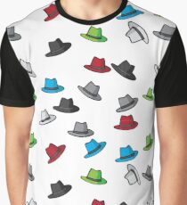 Colored Fedora's Graphic T-Shirt