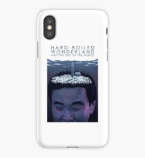 Hard-Boiled Wonderland And The End Of The World - Haruki Murakami iPhone Case