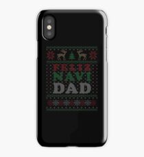 Feliz Navi Dad Ugly Christmas Humour Pun Gift iPhone Case/Skin