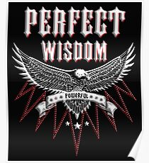 Rock & Roll Perfect Wisdom Powerful Poster