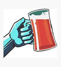 beer drink Photographic Print