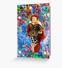 Clown Troubadour  Greeting Card