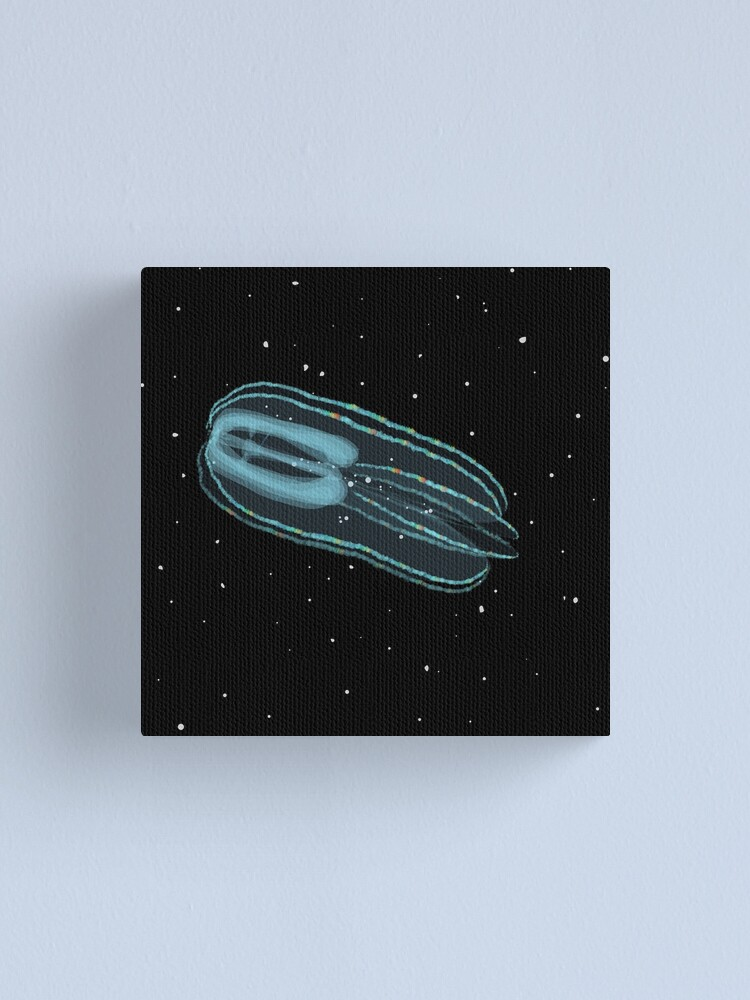 Alternate view of Bolinopsis infundibulum comb jelly Canvas Print