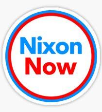 Nixon Now Sticker