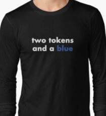 Two Tokens and a Blue T-Shirt