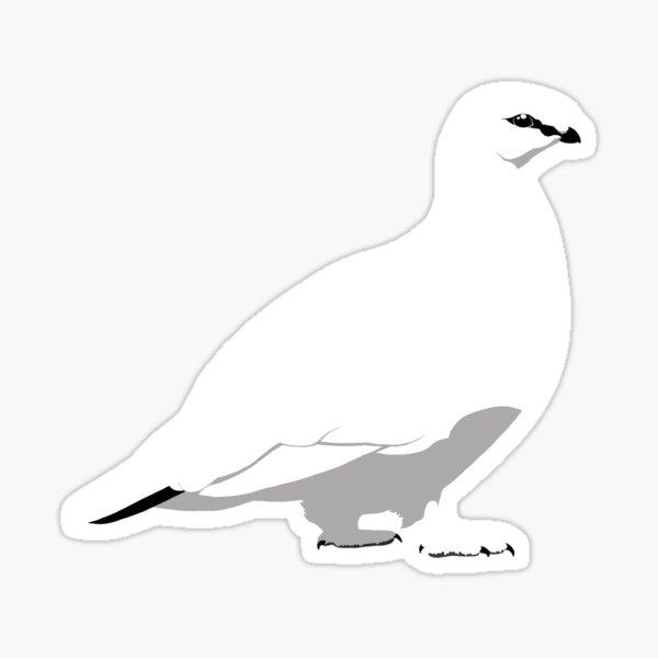 Rock Ptarmigan - winter Sticker