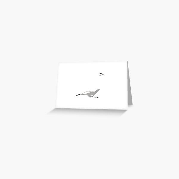 Rock Ptarmigan - winter Greeting Card
